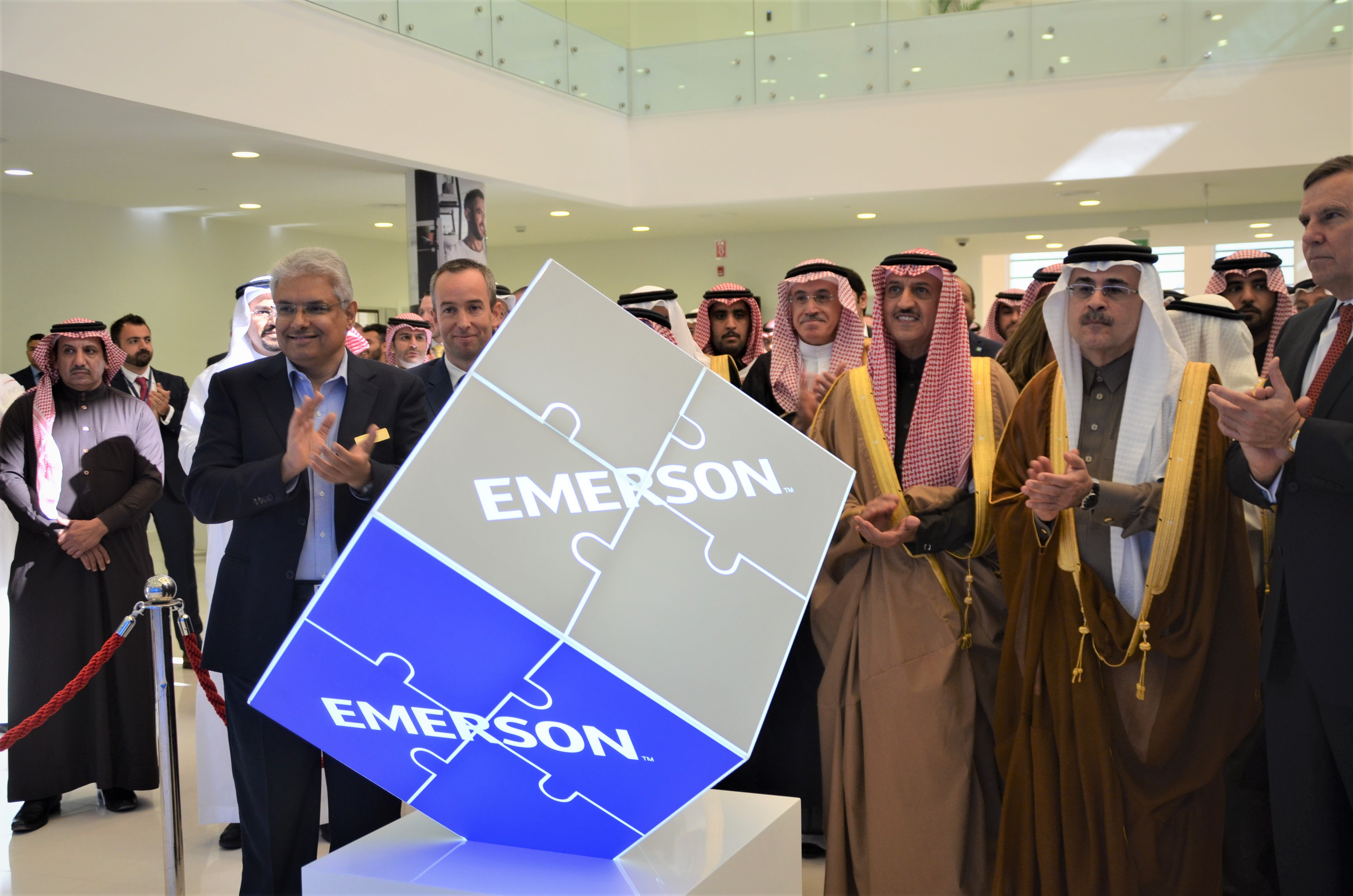 Emerson inaugurates New Technology Center in Dhahran Techno